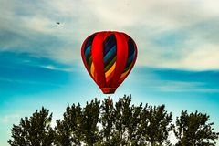 Annual balloon festival in Sussex, New Brunswick, Canada. Big event every year stock image