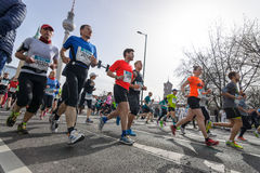 The annual Berlin Half Marathon. Berlin. Germany. Royalty Free Stock Photography