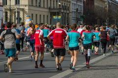 The annual Berlin Half Marathon. Berlin. Germany. Stock Photos