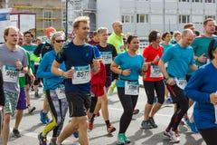 The annual Berlin Half Marathon. Berlin. Germany. Stock Photo