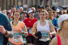 The annual Berlin Half Marathon. Berlin. Germany. Stock Images