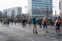 The annual Berlin Half Marathon. Berlin. Germany. Stock Images