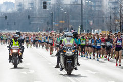 The annual Berlin Half Marathon. Berlin. Germany. Stock Photography