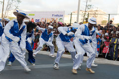 The annual Carnival in Cape Verde 2011 Royalty Free Stock Image