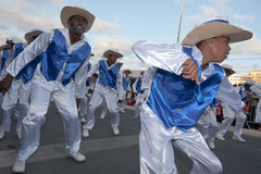 The annual Carnival in Cape Verde 2011 Royalty Free Stock Photo