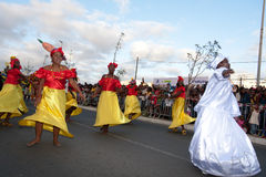 The annual Carnival in Cape Verde 2011 Stock Photography