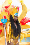 The annual Carnival in the capital in Cape Verde, Praia. Stock Images