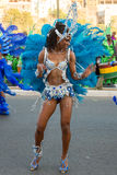 The annual Carnival in the capital in Cape Verde, Praia. Stock Photo