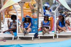 The annual Carnival in the capital in Cape Verde, Praia. Stock Image