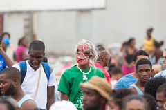 The annual Carnival in the capital in Cape Verde, Praia. Stock Photography