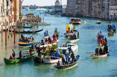 Annual Carnival at the city of Venice, Italy Royalty Free Stock Image