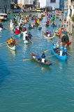 Annual Carnival performed at Venice, Italy Stock Photography