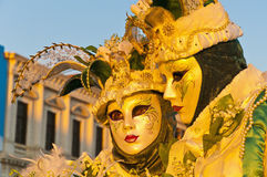 Annual Carnival performed at Venice, Italy Royalty Free Stock Photos