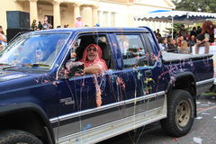 Annual Carnival Procession. Royalty Free Stock Photo