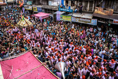 Annual chariot festival Raathyatra, Ahmedabad, India. Royalty Free Stock Images