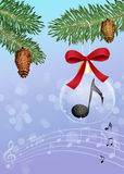 Annual Christmas concert Royalty Free Stock Photo