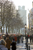 The annual Christmas Market in Dordrecht Stock Photo