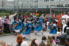 Annual cultural festival in Hammarkullen , Gothenburg, Sweden Royalty Free Stock Photo