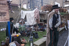 Annual Dickensian Christmas Festival, Rochester UK Royalty Free Stock Photos