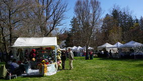 Annual Dogwood Festival in Fairfield, Connecticut. This festival has been celebrated for over 80 years now Royalty Free Stock Photo