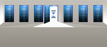 Annual doors Stock Images