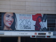 Annual Event in Dallas. Dallas, USA, Sunday,31st July 2016. The annual Mary Kay Seminar is underway at the Kay Bailey Hutchison Convention Center  Dallas. This Stock Images