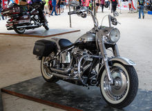 Annual festival of bikers on Phuket in Thailand Stock Photos