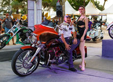 Annual festival of bikers on Phuket in Thailand Royalty Free Stock Photography