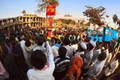 Annual Festival Hampi Utsava 2015 Stock Photo
