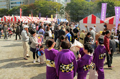 Annual Festival in Shin-Yokohama Japan Stock Images