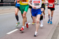 Annual Fortis Rotterdam Marathon 2010 Royalty Free Stock Photo