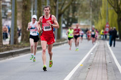 Annual Fortis Rotterdam Marathon 2010 Royalty Free Stock Image