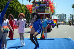 2017 Annual Gay Pride Long Beach CA Stock Photos