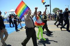 2017 Annual Gay Pride Long Beach CA Stock Images