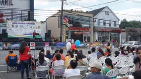 2015 annual India Day parade in Edison, New Jersey Royalty Free Stock Photography