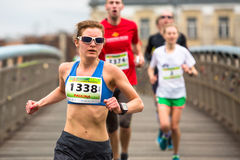Annual Krakow International Marathon Royalty Free Stock Photo