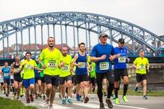 Annual Krakow International Marathon Royalty Free Stock Photography