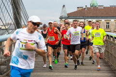 Annual Krakow International Marathon Stock Photo