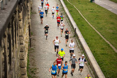 Annual Krakow International Marathon Stock Images