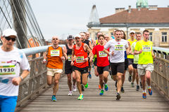 Annual Krakow International Marathon Royalty Free Stock Photos