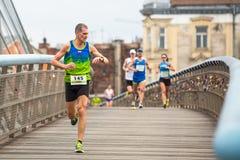 Annual Krakow International Marathon Royalty Free Stock Photos
