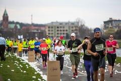 Annual Krakow International Marathon Royalty Free Stock Photo