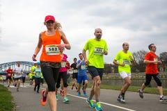 Annual Krakow International Marathon Stock Image