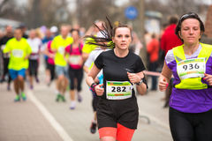 Annual Krakow International Marathon Stock Photos