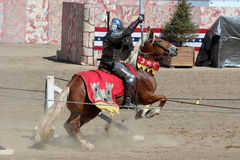 International Jousting Competition. The annual Longs Peak Scottish Irish Highlands Festival is a popular event in Estes Park, Colorado, USA. It attracts Stock Images