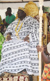 ANNUAL MEETING OF KINGS AND HEADS OF TRIBES AKAN PEOPLE OF IVORY COAST. Every year in November with determination of the kings and heads of Akan tribes gather in royalty free stock images