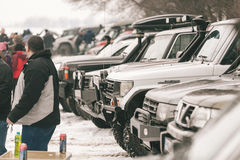 The annual meeting of owners offroad Stock Images