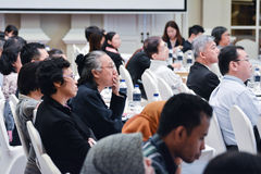 Annual meeting of The Thai Society for Biotechnology Royalty Free Stock Photography