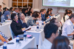 Annual meeting of The Thai Society for Biotechnology Stock Photos