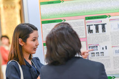 Annual meeting of The Thai Society for Biotechnology Stock Photography
